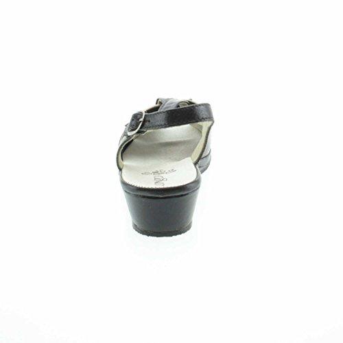 Solidus Keilsandalette 3069325-4 Schwarz