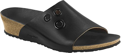 Birkenstock, Damen Clogs & Pantoletten Metallic Black
