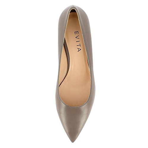 Evita Shoes Franca, Scarpe col tacco donna Grau