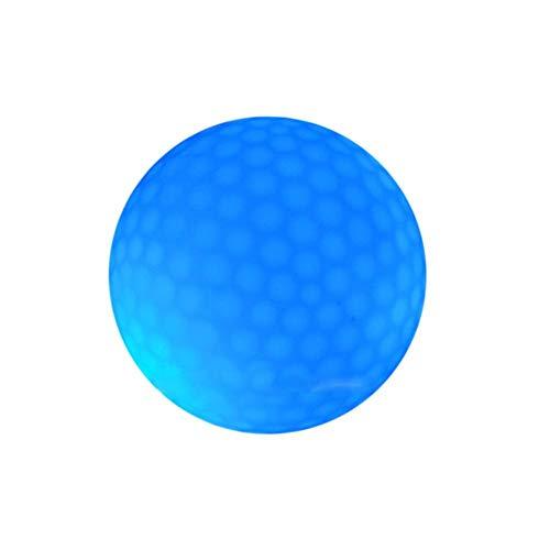 iBaste LED Golfbälle Nacht Golfbälle Glühen im Dunkeln Schlagen Turnier Leuchtstoff Golfball - langlebige helle leuchtende Bälle