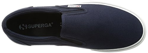 Superga Unisex-Erwachsene 2311 Cotu Low-Top Blau (933)