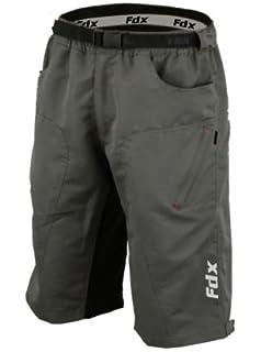 FDX Short de cyclisme avec doublure et rembourrage
