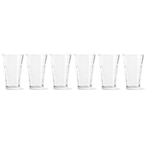 Menu 4666036 6-er Pack Set, Glas, transparent