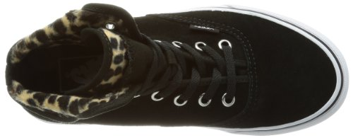 Vans U Authentic Hi 2, Baskets mode mixte adulte Noir (Furry Leopard)