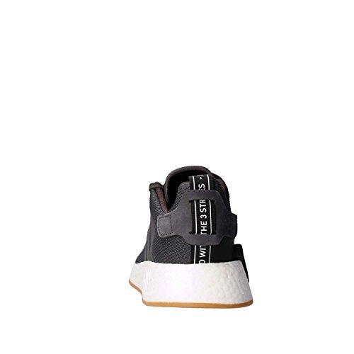 adidas Herren NMD_r2 Gymnastikschuhe Grau (Grey Five F17/grey Five F17/core Black)