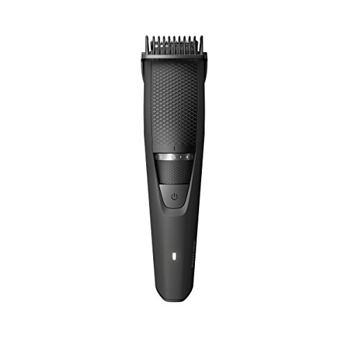 Philips Multigroom - Pack con recortador de barba serie 3000 y funda de viaje, sistema Lift & Trim, 20 posicio
