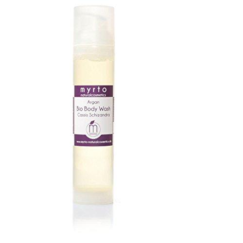 myrto-naturalcosmetics - Argan Body Wash CASSIS SCHIZANDRA - Bio Duschbalsam für sensible Haut | handgefertigt in eigener Manufaktur ✔ - 100ml -