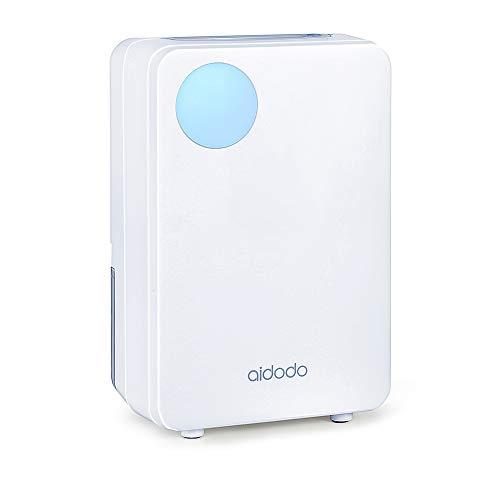 Luftentfeuchter, Aidodo 800ml mini elektrischer raumentfeuchter automatischer entfeuchter leise Dehumidifier für Schmutz und Schimmel zu Hause, Schlafzimmer, Kellerräume, Schrank, Wohnwagen, Büro
