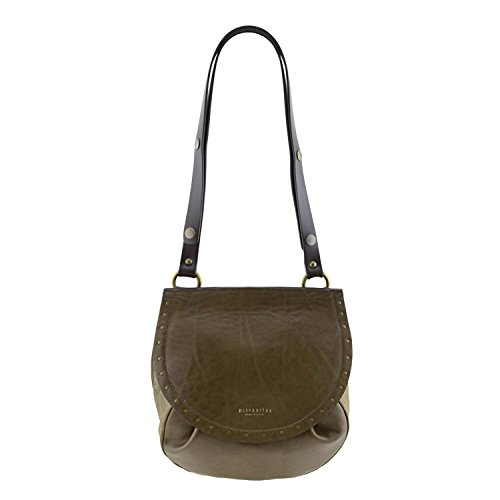 borsa della pelle BI-76027 Hispanitas Beige