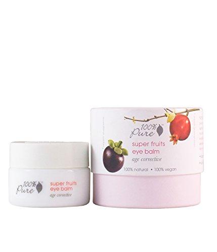 100% Pure - Crème Contour Yeux - Super Fruits Eye Balm