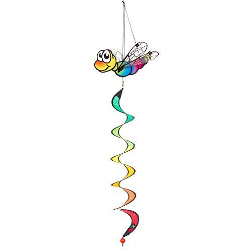 464 - Dragonfly Twist, UV-beständiges und wetterfestes Windspiel - Länge: 90 cm, Breite: 28 cm, Tiefe: 20 cm, inkl. Aufhängung ()
