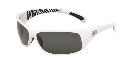 Bollé Brille Recoil, Shiny White/Black, One size, 11701