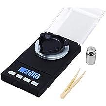 lupeng Báscula electrónica de joyería, pequeña Escala portátil de Cocina ...