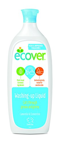 Ecover - Washing up liquid with camomile and marigold 1 litre (pack of 6)