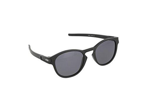 Oakley latch 926501 53 - occhiali da sole, uomo, nero (matte black/grey)