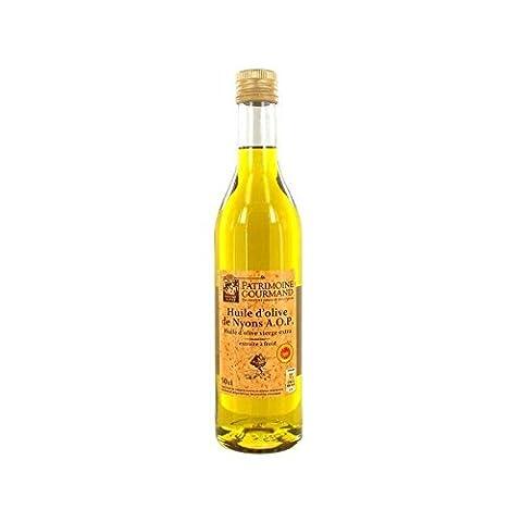 Patrimoine gourmand huile d'olive de Nyons 50cl Prix Unitaire -