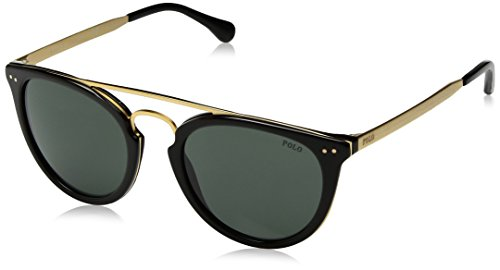 Polo Ralph Lauren Herren 0Ph4121 500171 51 Sonnenbrille, Schwarz (Black/Green),