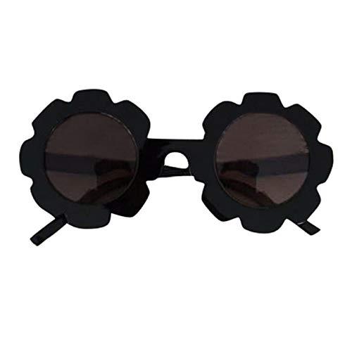 Barlingrock Sonnenbrillen Sonnenbrillen UV400-Schutz Baby Kinder Mädchen Jungen Cartoon Lacework Shades Anti-UV-Brillen Goggle Sonnenbrillen