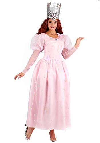 Glinda Of Kostüm Wizard Oz - Jerry Leigh Wizard of Oz Glinda Adult Fancy Dress Costume X-Large
