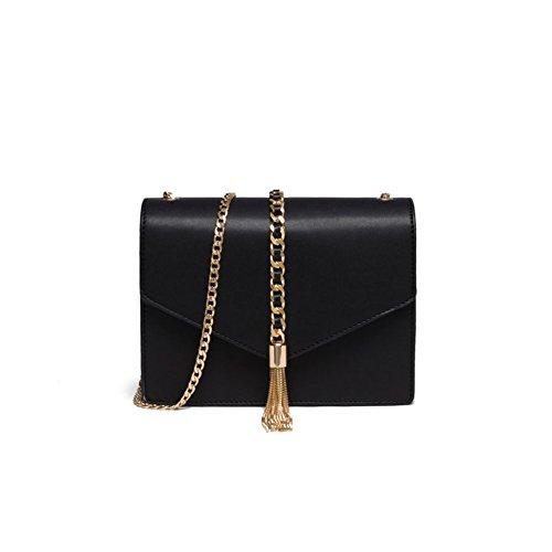 chain bag Ms./Messenger Bag modo semplice/single borsa a tracolla delle donne/pacchetto della busta/nappe pacchetto-A A