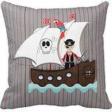 (Ship Ahoy Matey Kids Pirate Theme Throw R1f5d0405947d4376a4da39d333fc4307 I5fqz 8byvr Pillow Case)