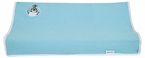 bébé-jou Cover for Dresscushion Penguin (72 X 44 cm, Turquoise)