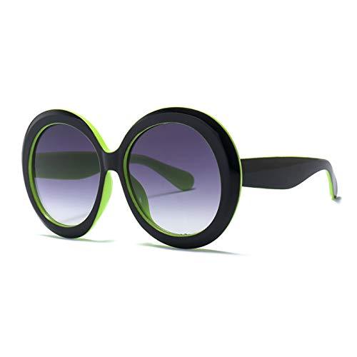 Daawqee New Vintage Oversized Round Sunglasses Women Designer Big Frame Lady Sun Glasses Lady Cool Retro Oculos De Sol 1