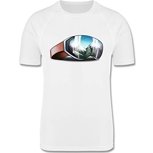 le - 152 (12-13 Jahre) - Weiß - F350K - atmungsaktives Laufshirt/Funktionsshirt für Mädchen und Jungen ()