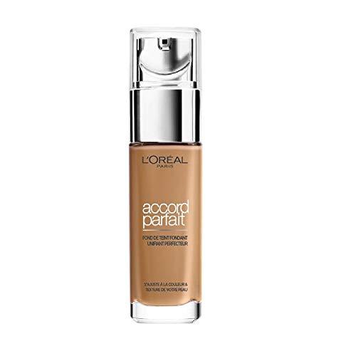 L'Oréal Paris - Fond de Teint Fluide Accord Parfait Caramel Doré (6.5.D) 30ml