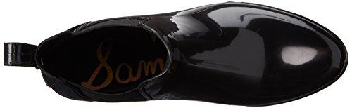 Sam Edelman Womens Tinsley Rain Boot Black Polished