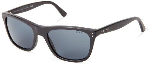 Polo Ralph Lauren Unisex-Erwachsene 0Ph4071 528487 55 Sonnenbrille, Schwarz (Black/Grey)