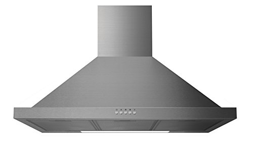 31sxQ8U7drL - Igenix Chimney Cooker Hood Extractor - 60 cm, Stainless Steel