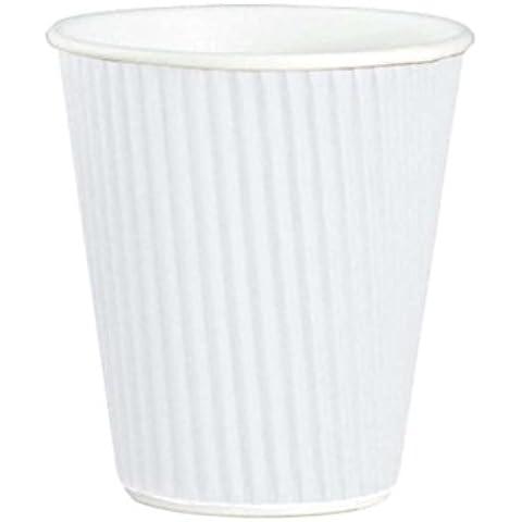 340ml Kraft x 100(NL) Ripple a 3strati, bicchieri di carta termica per tè caffè cappuccino bevande calde