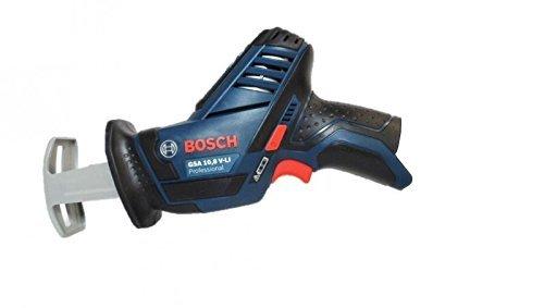 Bosch Professional GSA 12 V-14 Akku-Säbelsäge (ohne Akku, ohne Ladegerät, click&go2, Sägeblätter, Schnitttiefe 65 mm Holz, 50 mm Metallprofil, L-BOXX) 060164L905
