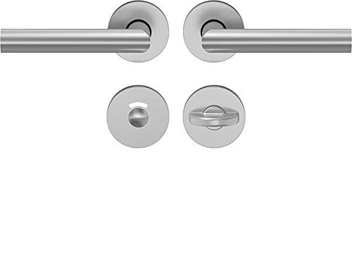 WC-Türgarnitur  <strong>Schild/Rosette</strong>   Langschild