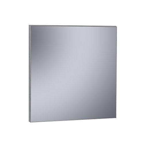 Kristaled Agneta Espejo Liso Marco PVC Acabado Acero