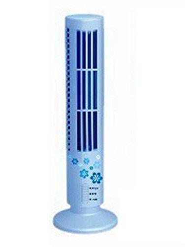 NWYJR USB-Turm-Lüfter High/Low 2 Gang Einstellbare Luftvolumen Niedlich Fanless Fan Super vertikalen Doppel-Datei-Fan, C -