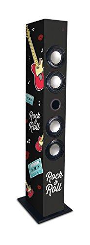 Metronic 477095 Bluetooth Säule Rock'n Roll Lautsprecher Schwarz