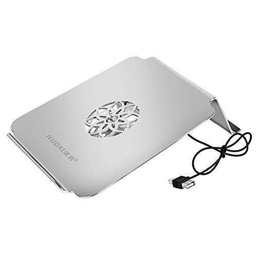 YouN NUOXI G1A Aluminiumlegierung Ergonomisches 17-Zoll-Laptop-Kühlgestell mit Lüfter
