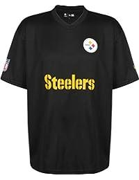 902fd44ab A NEW ERA ERA ERA ERA ERA Era NFL Woodmark Jersey T-Shirt ~ Pittsburgh
