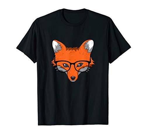 Schlauer Fuchs T Shirt Fuchsliebhaber Süße Füchse Geschenk -