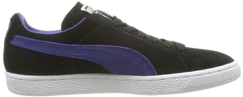 Puma Suede Classic+ , Baskets Mode Mixte Adulte, Rouge Noir (Black/Spectrum Blue)