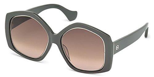 Occhiali da sole balenciaga ba0049 c55 20z (grey/other / gradient or mirror violet)