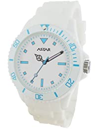 Astar Unisex-Armbanduhr Analog Quarz Silikon ULK15281Wnb