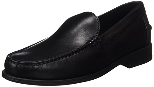 Geox Herren U New Damon A Slipper, Schwarz (BLACKC9999), 44 EU