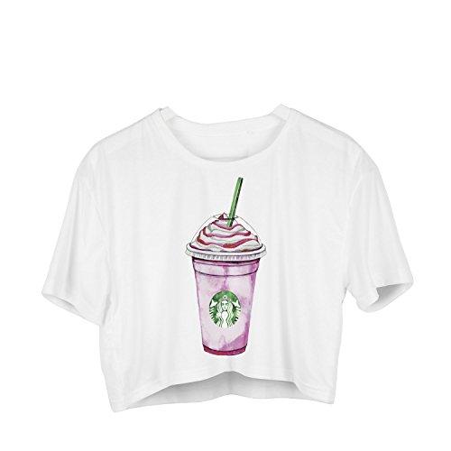 Fringoo - Débardeur - Femme multicolore Multicoloured Taille Unique Strawberry Frappe - Tee