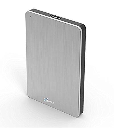 Sonnics Tragbare Externe Solid State Drive (SSD) USB 3.0Super Schnelle Übertragungsgeschwindigkeit für Verwendung mit Windows PC, Apple Mac, Xbox One & PS4 Silber 1 TB