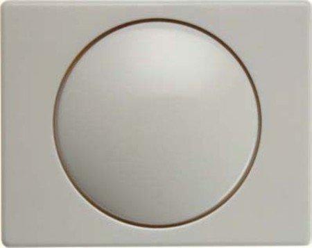 Hager ARSYS-Platte mit Taste Dimmer Kunststoff weiß -