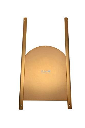 Titan Incubators Elite Porte coulissante en métal de...