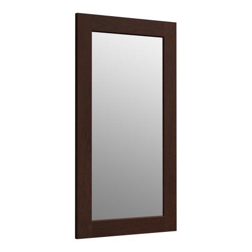 KOHLER K-99666-1WG Poplin 35.5-Inch x 20.5-Inch Rectangular Framed Mirror,  Cherry Tweed